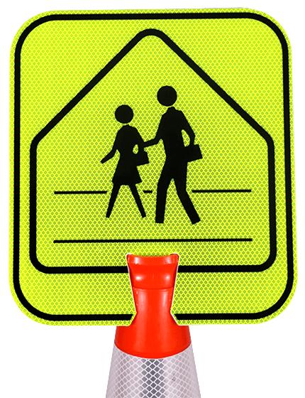 Double-Sided, Pedestrian Crossing