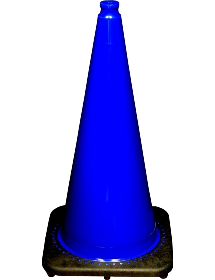 "28"" Blue Traffic Cones image"