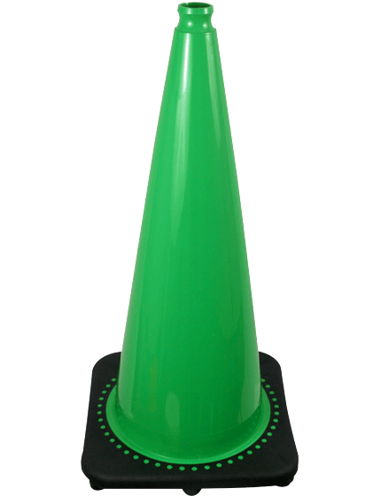 "28"" GreenTraffic Cones image"