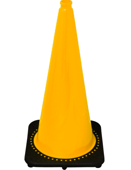 "28"" Yellow Traffic Cones image"