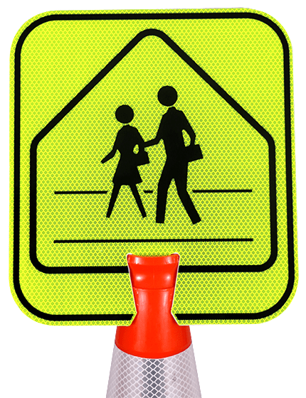 Double-Sided, Pedestrian Crossing
