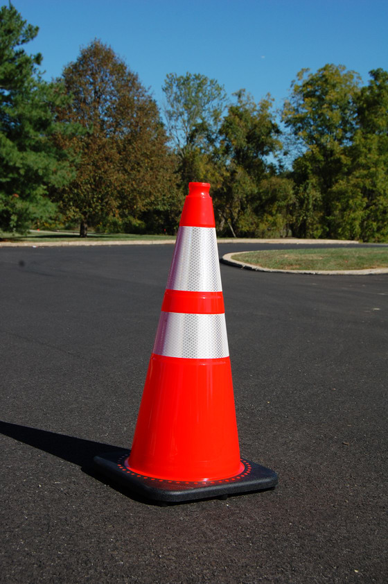Traffic Cone outdoors