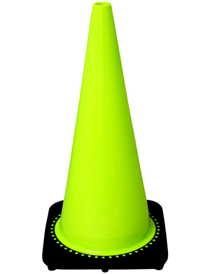 "28"" Black Base Lime Cone"
